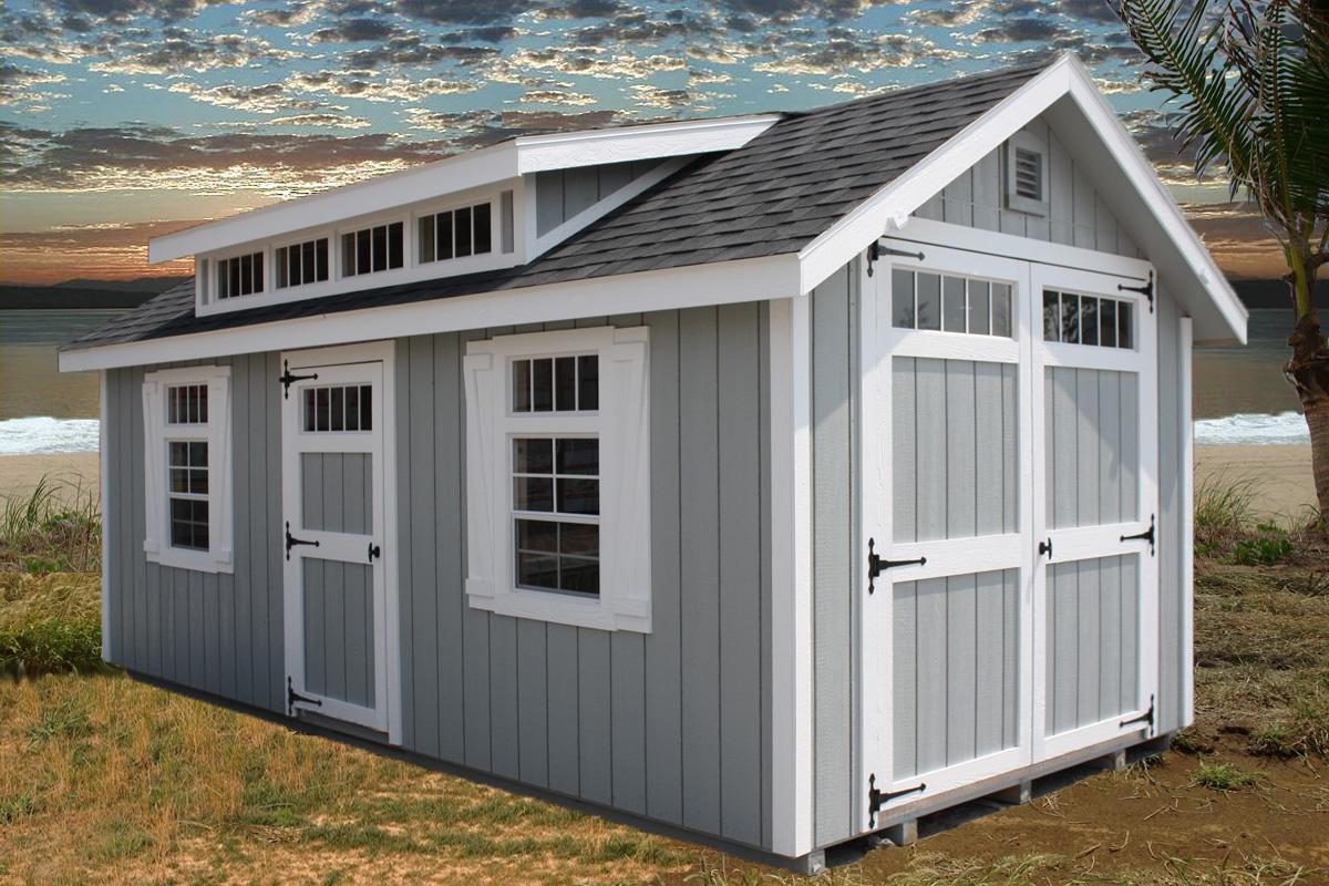 dormer sheds